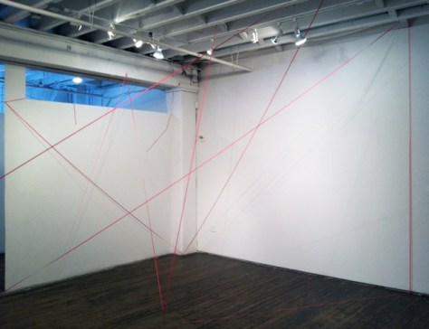 Pink Assignment Gallery Install