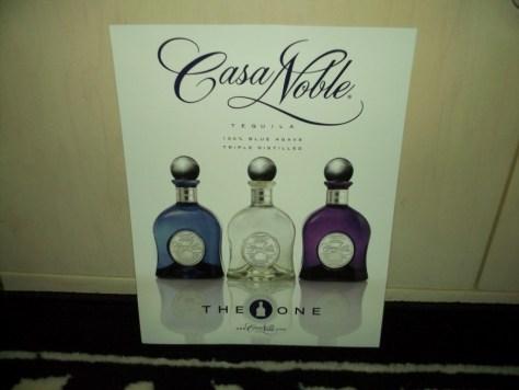 Casa Noble Tequila Flyer