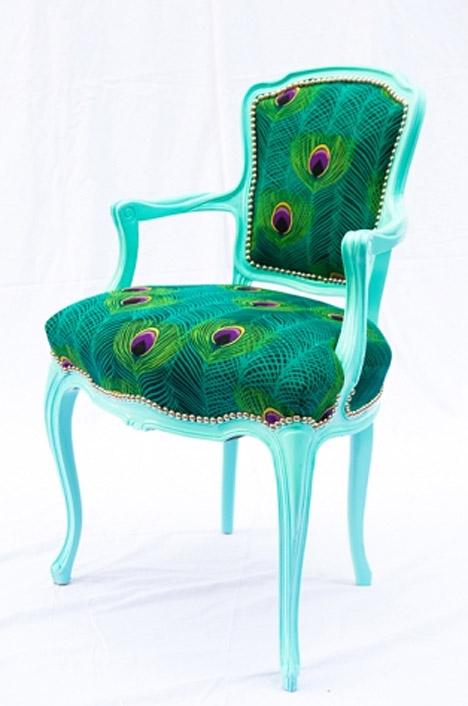 Peacock Plume Divine Chair