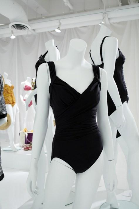 Black Suit Deep V