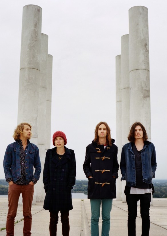 Tame Impala 2010 Press Shot by Maciek Pozoga
