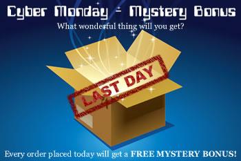 Cyber Monday Mystery Bonus