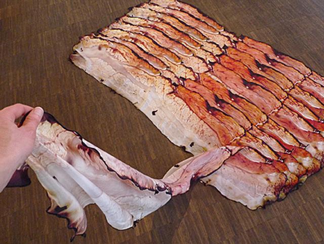 Fou Lard Bacon Scarf