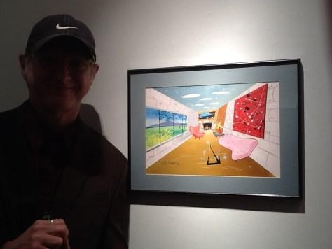 Bob Camp with Art
