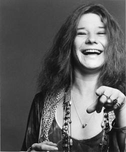 Janis Joplin Smiling