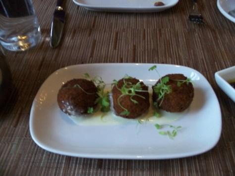 Pera Eggplant Kofte Croquettes