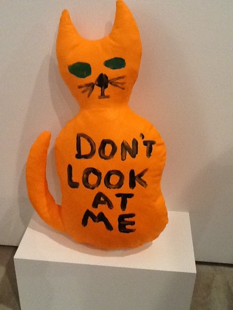 Don't Look at Me By David Shrigley