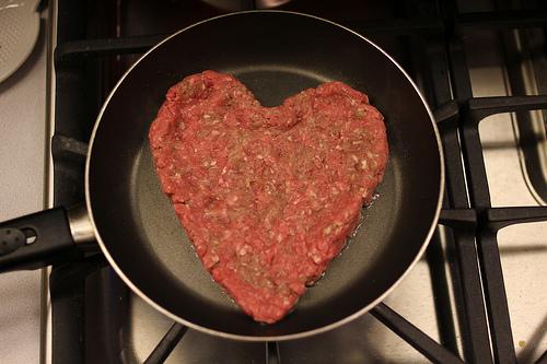 Heart Shaped Meat