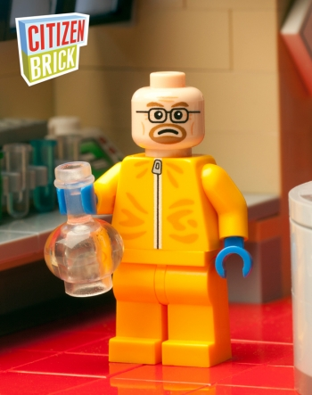 Lego Walter White Citizen Brick Chemist