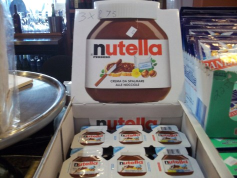 Travel Size Nutella