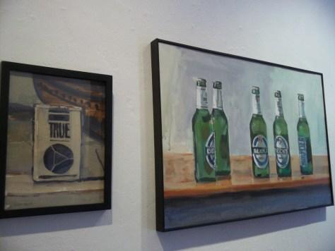 True Cigs and Heineken Beer