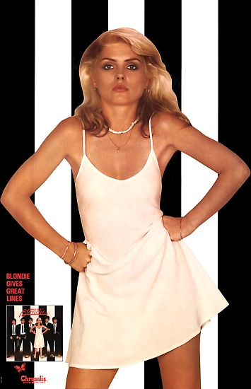Debbie Harry Parallel Lines Promo Poster