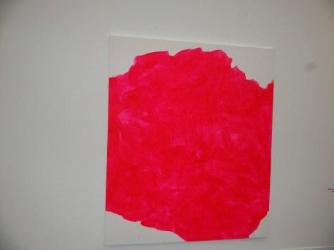 Hot Pink Canvas at Frieze