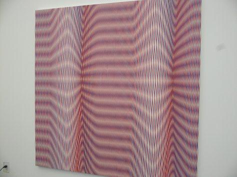 Pink Optical Illusion at Frieze