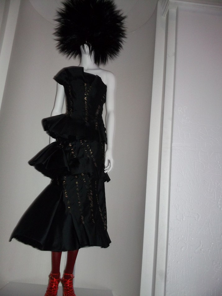 Chaos to Couture Black Dress