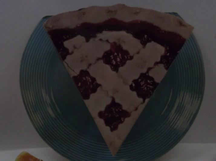 3D Cherry Pie Slice Ad
