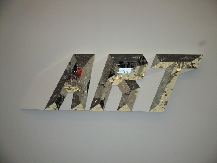 Art Spelled in Mirror