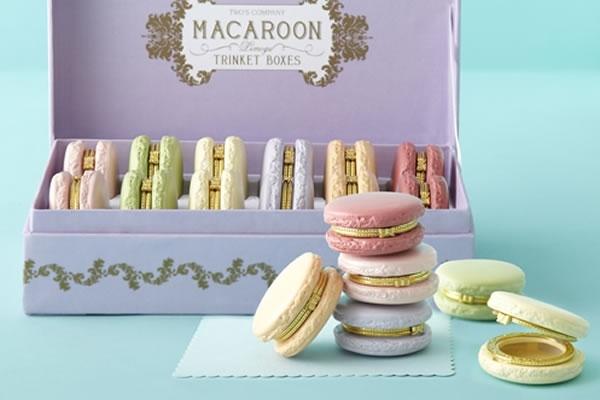 Macaroon Limoge Trinket Box