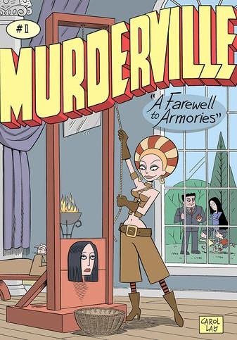 Murderville Comic Carol Lay