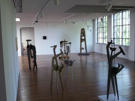 Noguchi Metal Sculptures