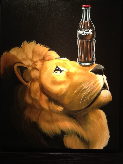 Lion of Coke