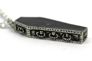 Nosferatus Rest Pendant Necklace Coffin