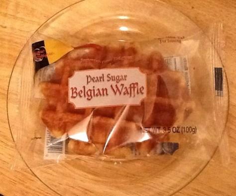 Pearl Sugar Belgian Waffle