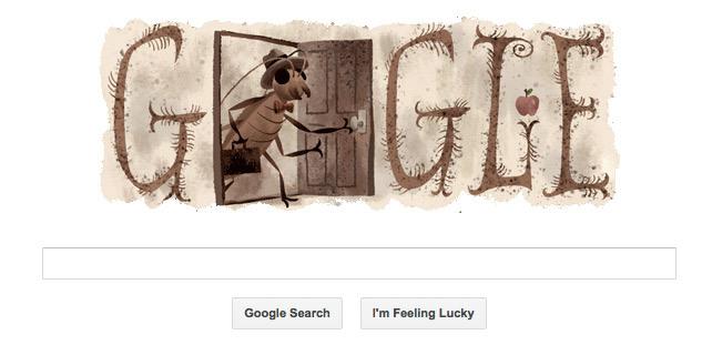 Kafka Google Doodle