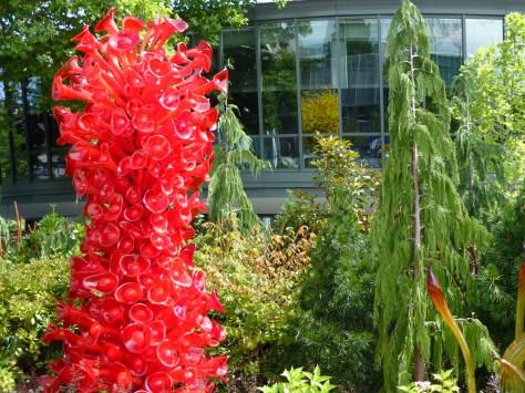 Garden Red Monument