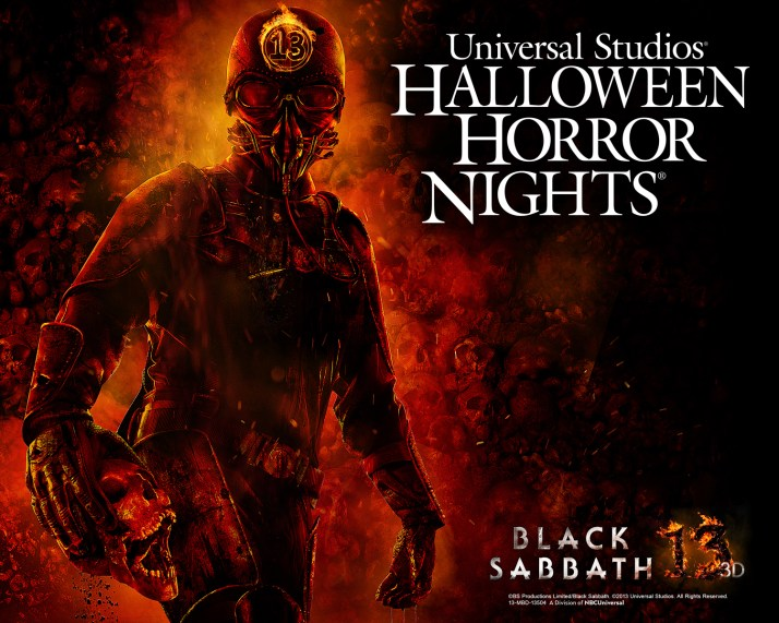 Black Sabbath Halloween Horror Nights
