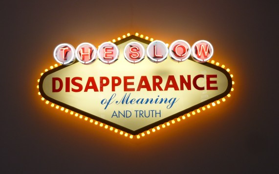 Slow Disappearance