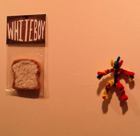 White Bread and Action Figure