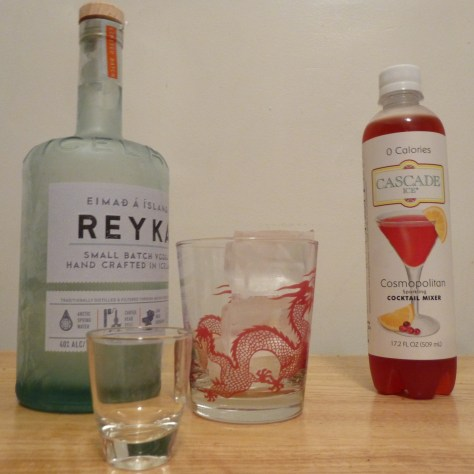 Cascade Ice Cosmopolitan Ingredients