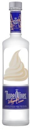 Three Olives Whipped Cream Vodka