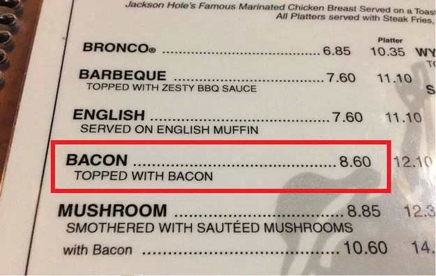 Bacon With Bacon