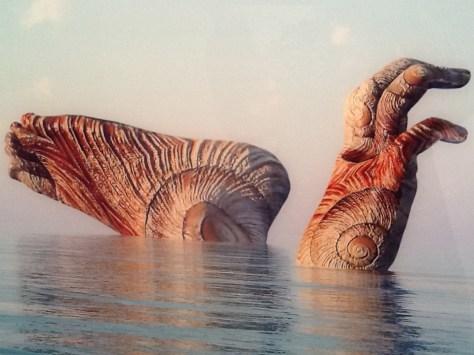 Kim Joon Island Shell Detail