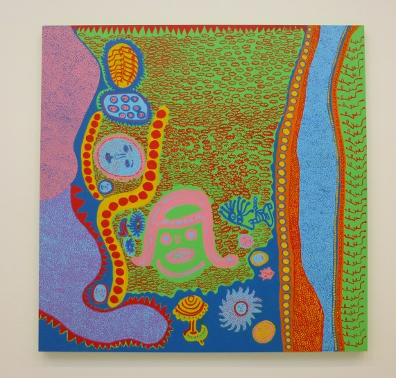 Yayoi Kusama Painting