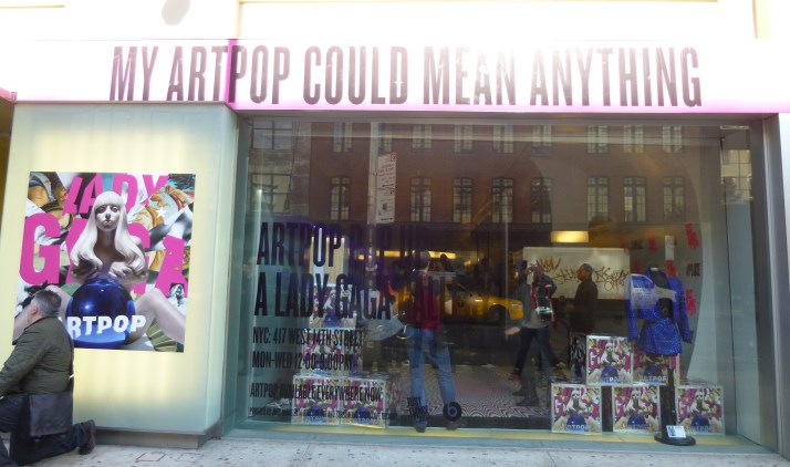 ArtPop Pop Up Storefront