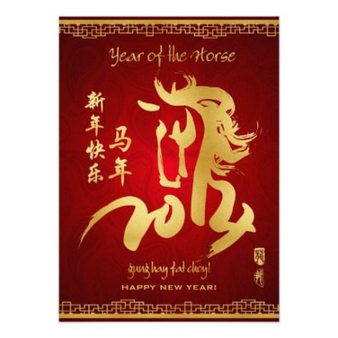Chinese New Year Horse 2014