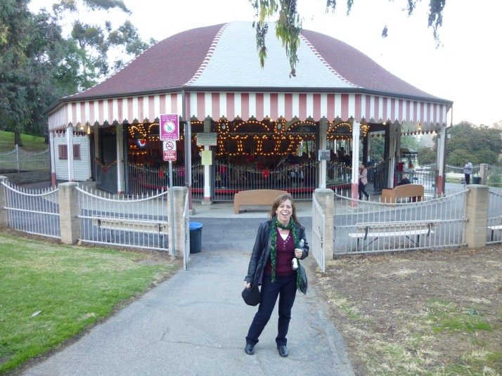 Griffith Park Merry Go Round with Sue