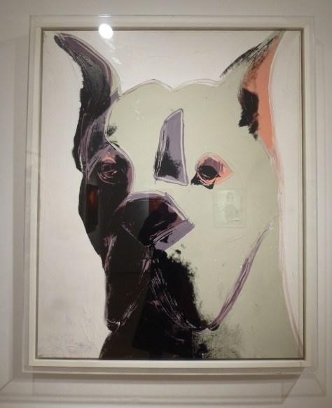 Dog By Andy Warhol