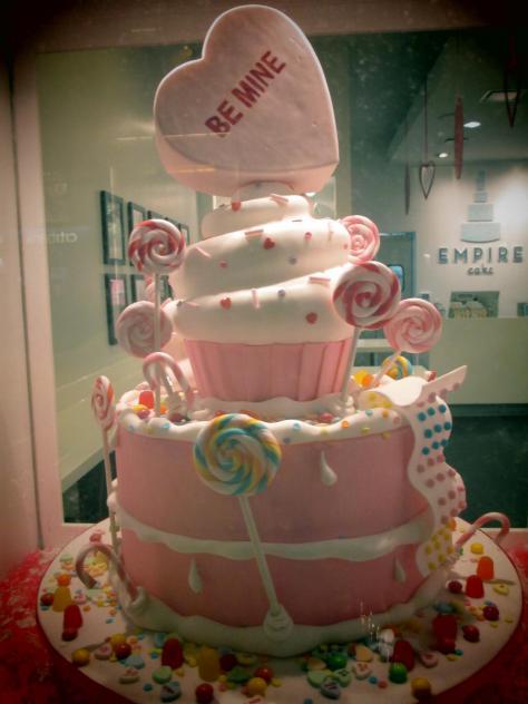 Valentines Day Tiered Cake