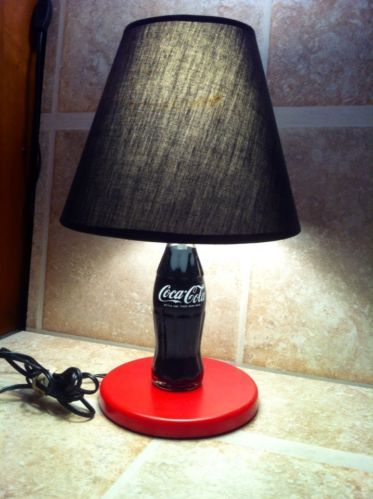 Coke Bottle Lamp