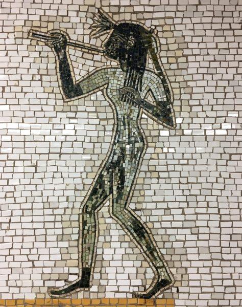 66th Street Station Mosaic