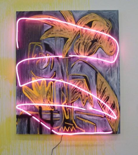 Thrush Holmes Pink Neon Zig Zag