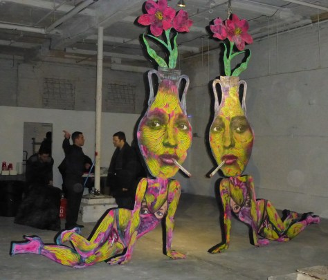 Judith Supine Twins Sculpture