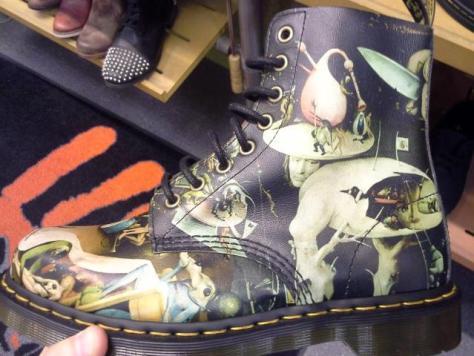 Hieronymus Bosch Boots