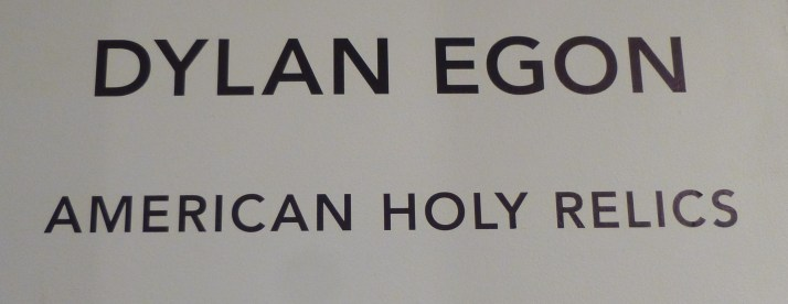 Dylan Egon American Holy Relics