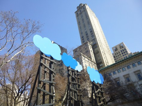 Olaf Breuning Clouds View Towards 5th Ave