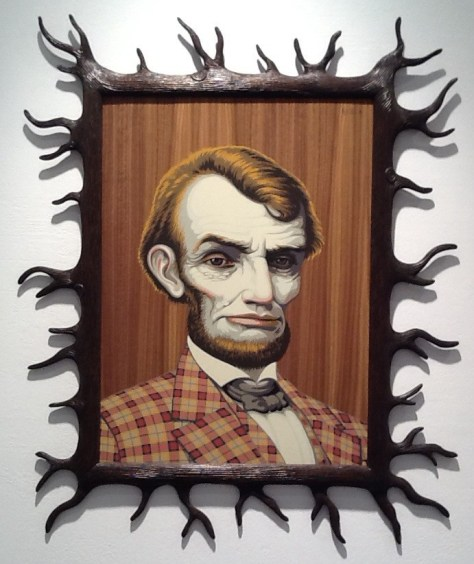 Abe Lincoln by Mark Ryden
